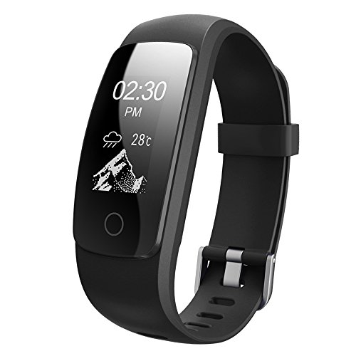 Semaco Fitness Tracker HR Heart Rate Monitor Wireless Smart Bracelet Waterproof Activity Tracker Pedometer Wristband Sleep Monitor Smartwatch For Android And IOS Smartphones