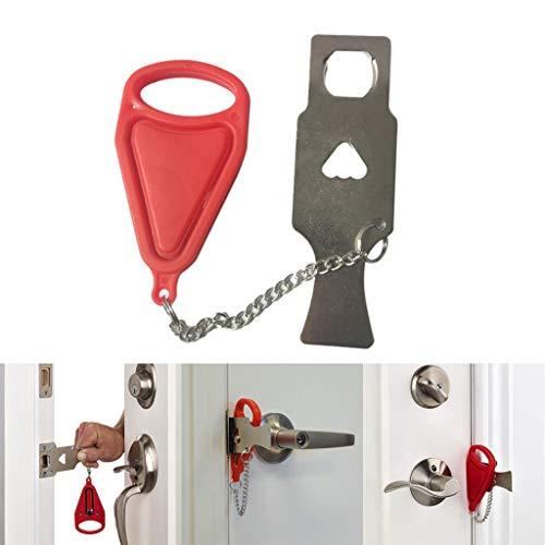 Amoyl Safety Sicherheit Durch Sperre tragbare Reise Hotel Schule Lockdown Lock Tür-Sicherheitsgerät