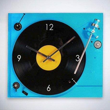 Reloj de Pared Tocadiscos: Amazon.es: Hogar