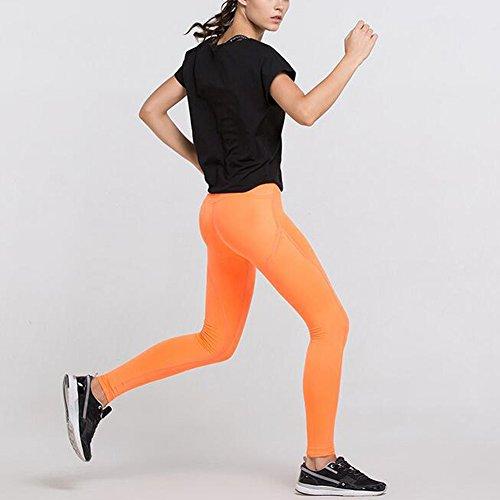 Hattie - Legging de sport - Femme Jaune