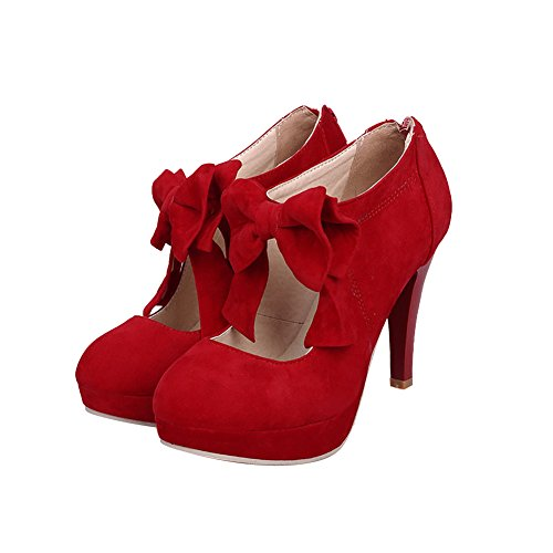 NIUERTE Plateforme Femme red