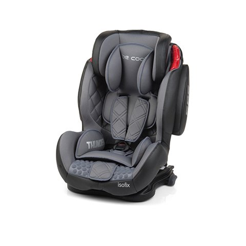 Be Cool Thunder Isofix gris - Grupo 1/2/3