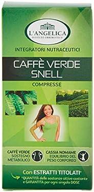 L'Angelica, Integatore Alimentare Caffè Verde, Accelleratore Metabolismo, Senza Lattosio, Senza Glutine, V