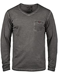 SOLID Terkel - T-shirt à manches longues – Homme