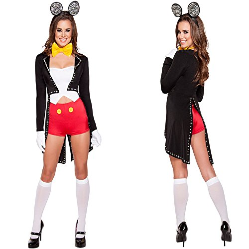 Gorgeous Sexy Mickey cartoons Halloween -Kostüm Cosplay Cosplay - Sexy Cartoon Kostüm