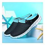 YAYADI Herrenschuhe Sommer Lässig Netzwerk Atmungsaktive Schuhe Slip On Schuhe Outdoor Beach Flip Flops Reiten Reisen Outdoor Produkte, 7,5