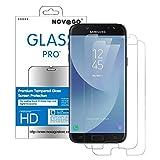 Novago Compatible Samsung Galaxy J7 2017 (J730) / J7 Pro Pack de 2 Films Protection...