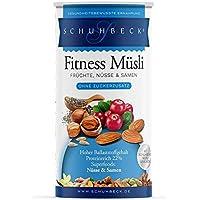 Schuhbeck Fitness Müsli Früchte, Nüsse und Samen, 3er Pack (3 x 450 g)