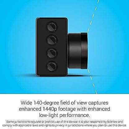 Garmin-Dash-Cam-56-GPS-fhig-mit-2-Zoll-Display-Sprachbefehle-breites-140-Grad-Sichtfeld-und-Aufnahme-in-1440p-HD-Video