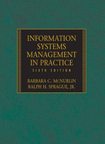 Information Systems Management in Practice: International Edition