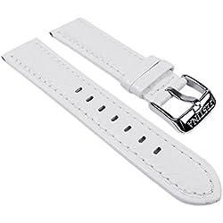 Lotus F16537/1-Band - Bracelet pour montre, cuir, couleur: blanc