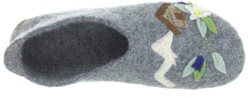 Living Kitzbühel 2245, Pantofole donna Grigio (Grau (grau 610))