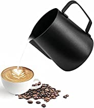 ابريق حليب من ميبرو، وعاء رغوة للقهوة اللاتيه، ابريق بالتبخير لفن الاسبريسو لصانع الاسبريسو الاحترافي