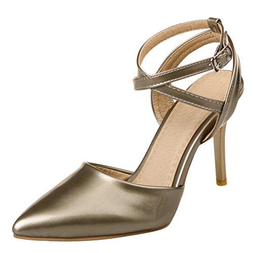 Mee Shoes Damen high heels ankle strap Slingback Pumps