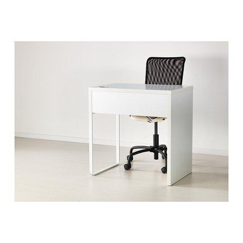 ikea micke scrivania dimensioni 73 x 50 cm colore bianco. Black Bedroom Furniture Sets. Home Design Ideas