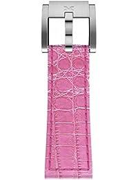 TW Steel Marc Coblen Reloj de pulsera reloj de pulsera piel 22mm cocodrilo rosa Lb _ P _ K _ S