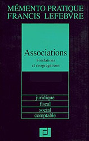 Associations : Fondation, Congrégations par Patrice Macqueron