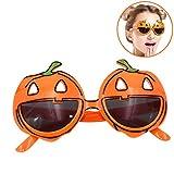 Zoylink Party Brille Kürbis Spinnennetz Kostüm Lustige Brille für Halloween