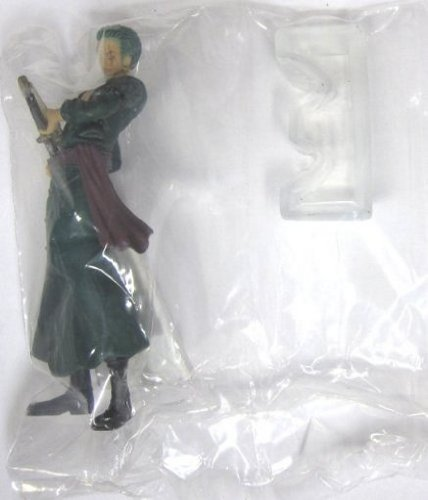 "One Piece Straw Hat Pirates New World Arc Figures w/ Base-4"" Rorona Zoro 2"