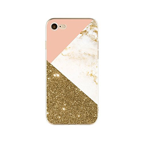 Coque iPhone 6 Plus 6s Plus Housse étui-Case Transparent Liquid Crystal en TPU Silicone Clair,Protection Ultra Mince Premium,Coque Prime pour iPhone 6 Plus 6s Plus-Marbre-style 10 13