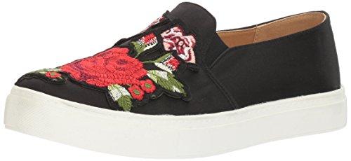 Dirty Laundry Women's Joon Fashion Sneaker, Satin Black