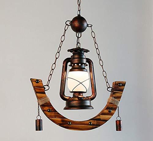 Antik Stil Laterne (SED Kreativer dekorativer Leuchter - Petroleumlampe-Leuchter-Bambus-Licht-Antiken-Western-Restaurant-Café-Bambus-Alter Stil-Laternen-Leuchter-Ausgangsspeisenlicht-Persönlichkeits-Wohnzimmer-Beleucht)