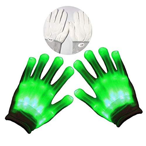 LED Bunte Beleuchtung Finger Glow Für Halloween,Weihnachten, Stage Performance,Party - 1 Paar ANKIRO
