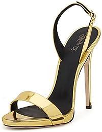 AIWEIYi - Strap alla caviglia donna , nero (Black), 35.5