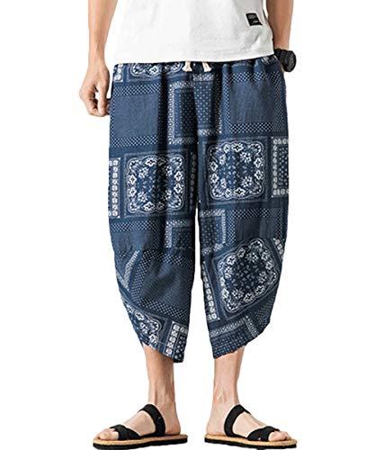 8bc5beffbe9500 ... danza hip hop da uomo. Mirecoo - pantaloni harem da uomo con due tasche  blau 57 xxxxl