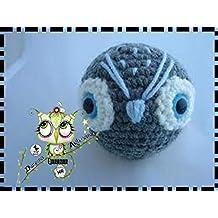 BÚHO, LECHUZA, BÚHITO AMIGURUMI REGALO NAVIDAD PERSONALIZABLE (Bebé, crochet, ganchillo,