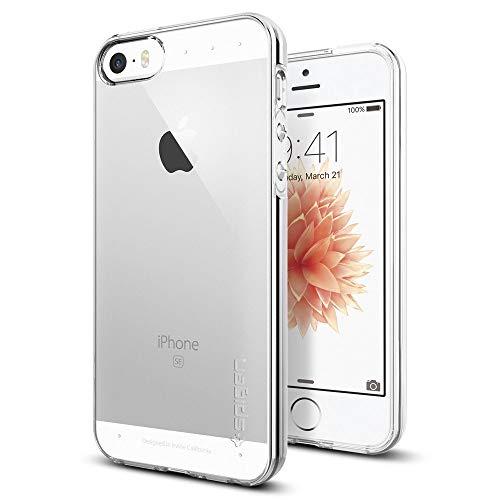 Spigen Liquid Crystal Clear Armor 041cs20247Cover per Apple iPhone SE/5S/5, Trasparente