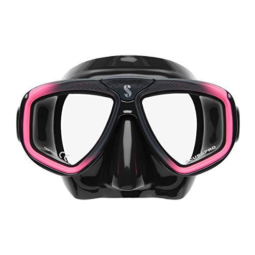 Scubapro Zoom EVO Tauchmaske , Farbe:schwarz/pink
