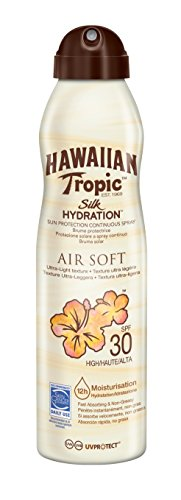 Hawaiian Tropic Silk Hydration Air Soft Sun Spray Lotion Sonnenspray SSF 30, 1 St ,177 ml -