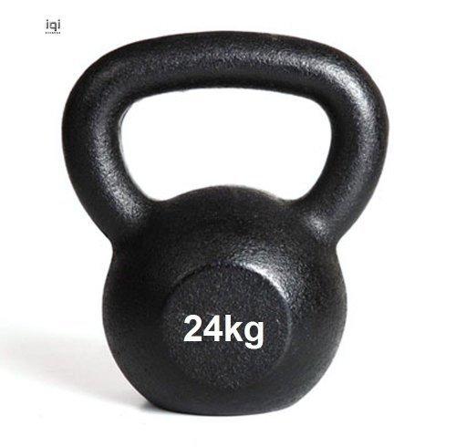 Kettlebell 24kg Kugelhanteln Gusseisen Gewicht