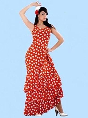 Disfraz de flamenca, adulto Talla M
