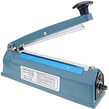 Cablematic - Selladora térmica metálica de 20cm para bolsas de plástico