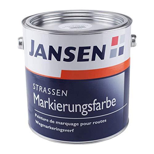 JANSEN Straßenmarkierungsfarbe 2,5 Liter Fb. weiß