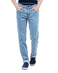 Monte Carlo Mens Straight Fit Jeans (2180870080DN-11-36_Light Blue)