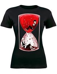 Red Sand Clock Design Women's T-shirt
