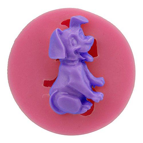 Let 's DIY Treuer Hund Silikon Form Fondant Kuchen dekorieren Tools Schokolade Jello Formen Zucker Craft Jelly (Candy Chocolate Buffet)