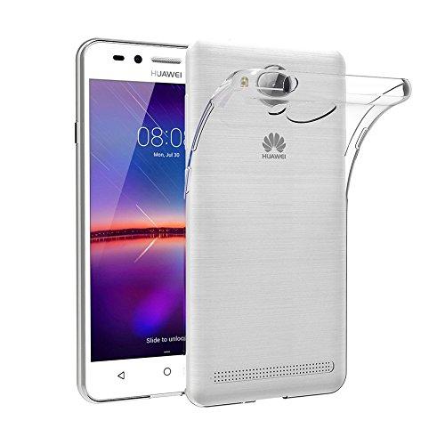 MaiJin Hülle für Huawei Y3 II (4.5 Zoll) Crystal Clear Durchsichtige Backcover Handyhülle TPU Case