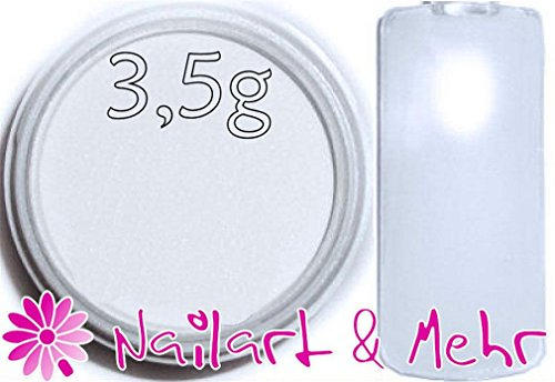Nail Art & plus professional-Powder/acrylique en poudre acrylique + + 3,5g-probier Taille + + ° Extra White °