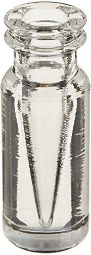 JG FINNERAN 30111s-1232Massive Glas Limited Volume Snap Ring Crimp Top Ampullen, 100µl Kapazität, 12mm Durchmesser, 32mm Höhe, 11mm zudrücken (Fall von 12) (Top-glas Snap)