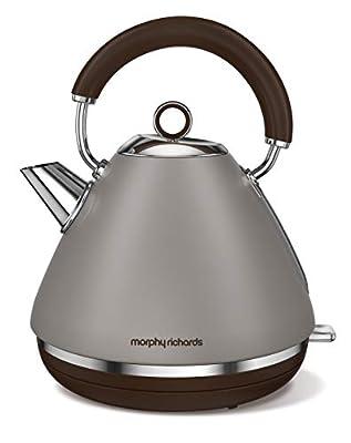 Morphy Richards 102102 Accents Special Edition Bouilloire électriques, 2200 W, 1.5 liters, Gris