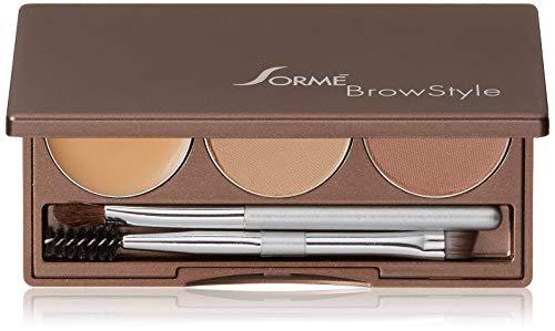 Sorme Poudrier Brow Style - Pour de formidables sourcils sexy comme les célébrités - Coloris Brunette (brun)