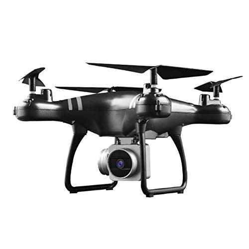 Drone HD Camera 1080P FPV Quad Copter Aerial Photographing Gravity Sensor RC Drone Altitude Hold Mobile Phone WIFI Imag 24 Mins Long Battery Life Quadcopter-Great Toy Present(Black/white)
