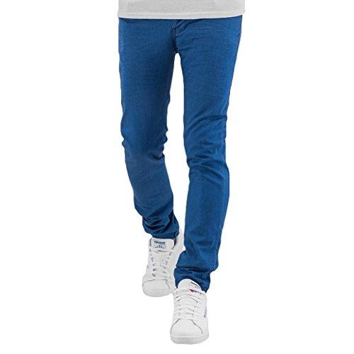 Cazzy Clang Herren Jeans / Skinny Jeans Dye Blau
