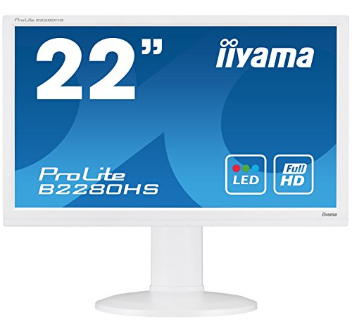 iiyama B2280HS W1 22 ProLite HD Height adaptable LED Monitor White Products