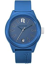 Reebok Reloj rccshg3plpllw Classic R – Shadow. Classic Azul/Blanco Dial./Classic PU Correa de Color Azul.