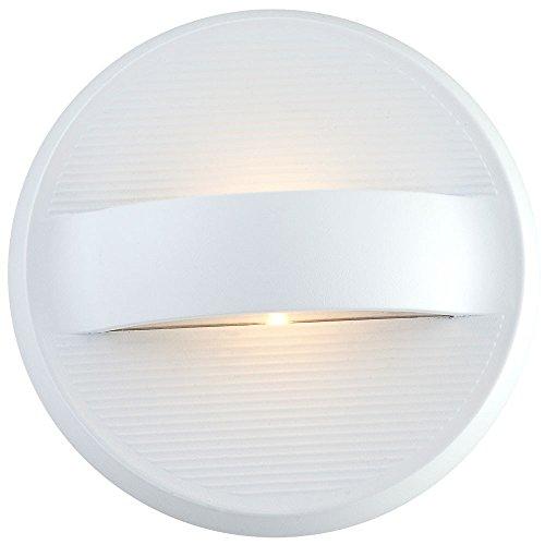 Globo IP44 1 x LED Elara Lampe murale d'extérieur Blanc